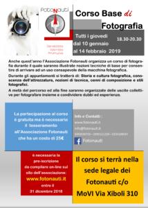 manifesto corso 2019
